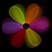 Colorful abstract windmill