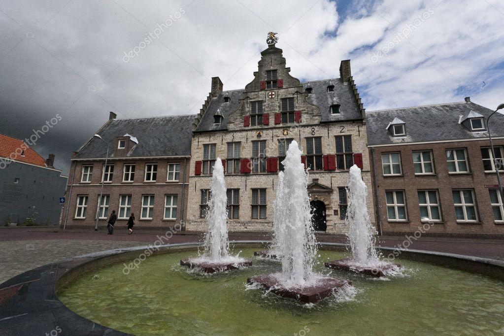 middelburg holland sint joris doelen old building with fountain in stock photo tripadvisor