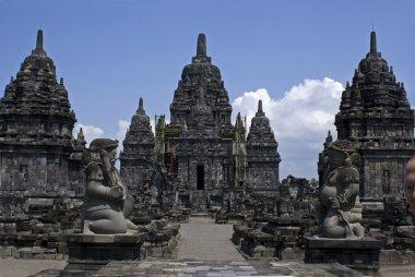 Prambanan temple - archeological site in Java Indonesia