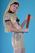 Photo Latex Nun