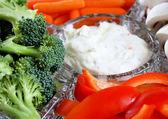 Veggie Tray With Creamy Dip