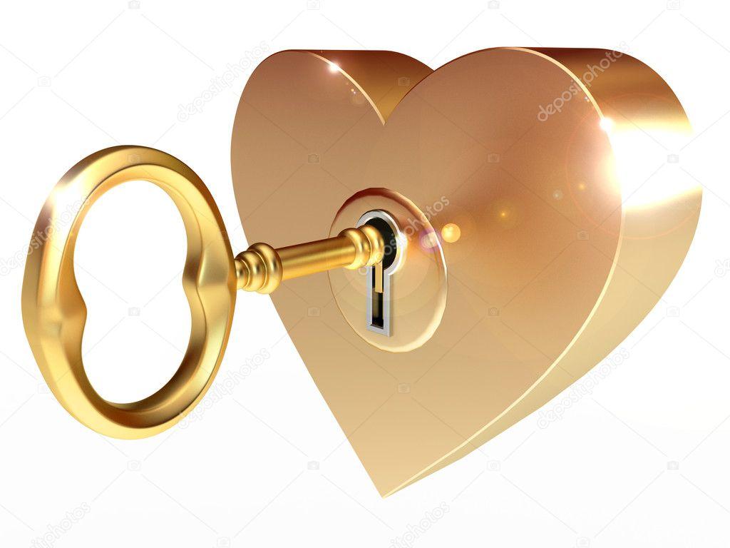 Картинки по запросу картинки сердца и золотого ключика