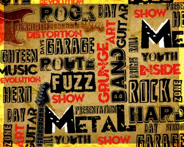 Rock Music poster
