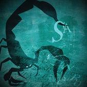 Fotografia segno zodiacale di grunge