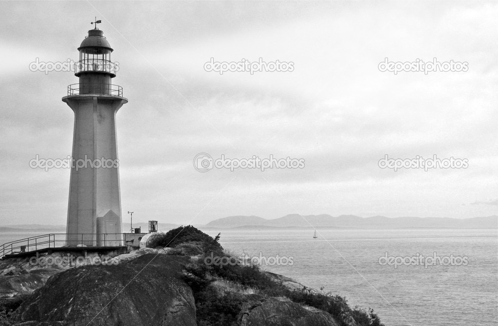 Lighthouse with Searchlight
