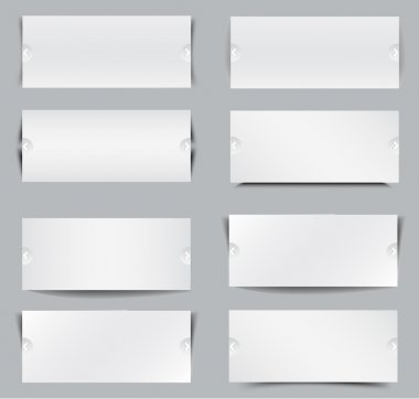 Blank templates for web banner