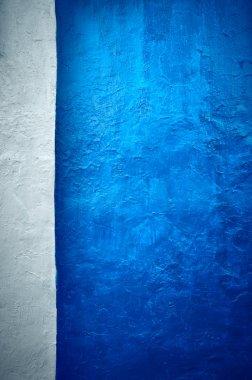 Grunge texture dark blue vertical