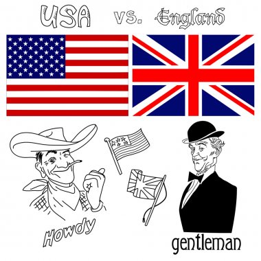 America versus Great Britain