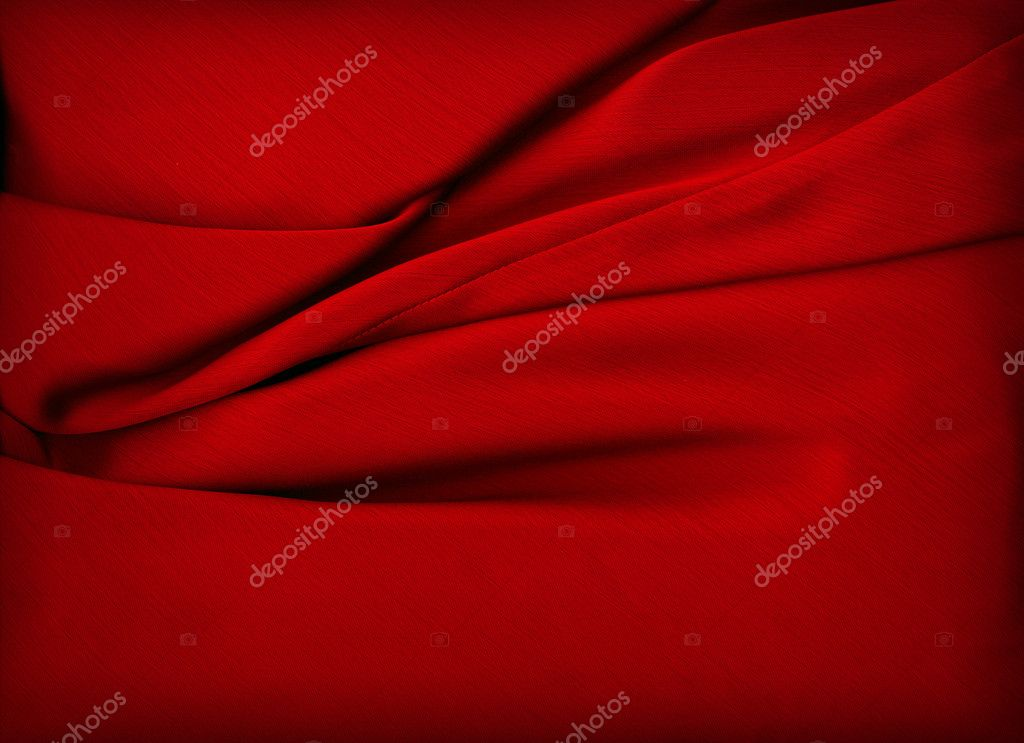 Smooth Red Satin