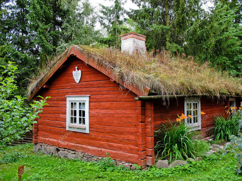 Swedish ecological cabin