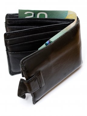 Wallet with Canadian money