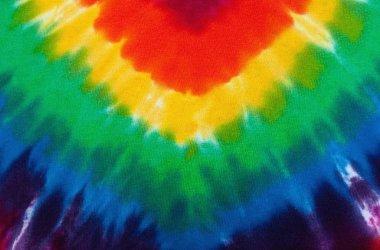 Tie dye shirt pattern