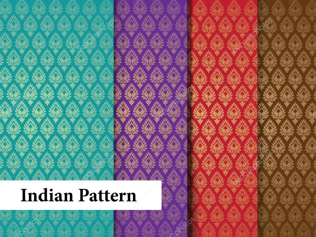 indische muster stockvektor krishnasomya 9234372. Black Bedroom Furniture Sets. Home Design Ideas