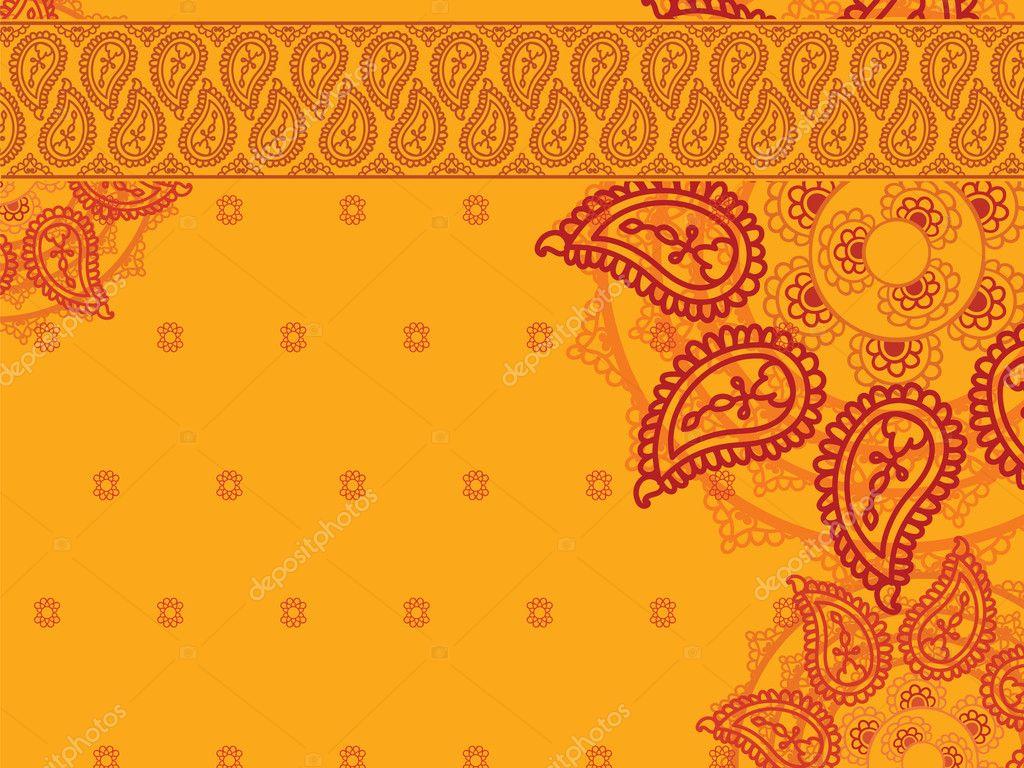 Henna Mandala Background Stock Vector 169 Krishnasomya
