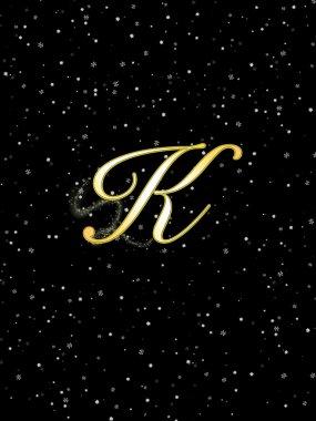 Letter K.