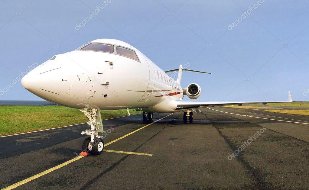 jet priv de luxe avion vue lat rale photographie tr3gi 9549573. Black Bedroom Furniture Sets. Home Design Ideas