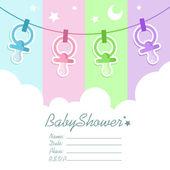 Baby sprcha pozvánky