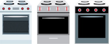 Cookers. three different kinds