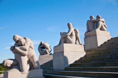 Vigeland Sculpture Park in Oslo Norway