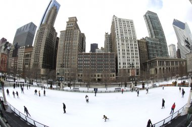 Chicago Outdoor Ice Rink