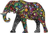 The cheerful elephant