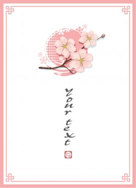 Blossom Cherry Template Background