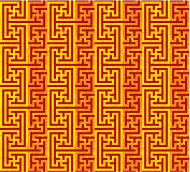 Vector Oriental Seamless Pattern