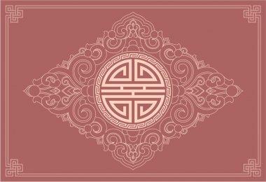 Vecor Oriental Chinese Pattern
