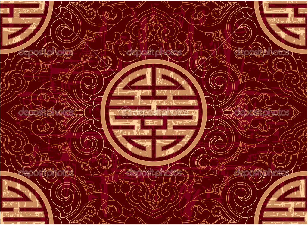 Vector Seamless Chinese Pattern Stock