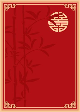 Vector Oriental Template Composition (cover, invitation, blank, background) stock vector