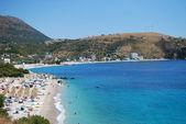 Fotografie Albanian coast on a sunny summer