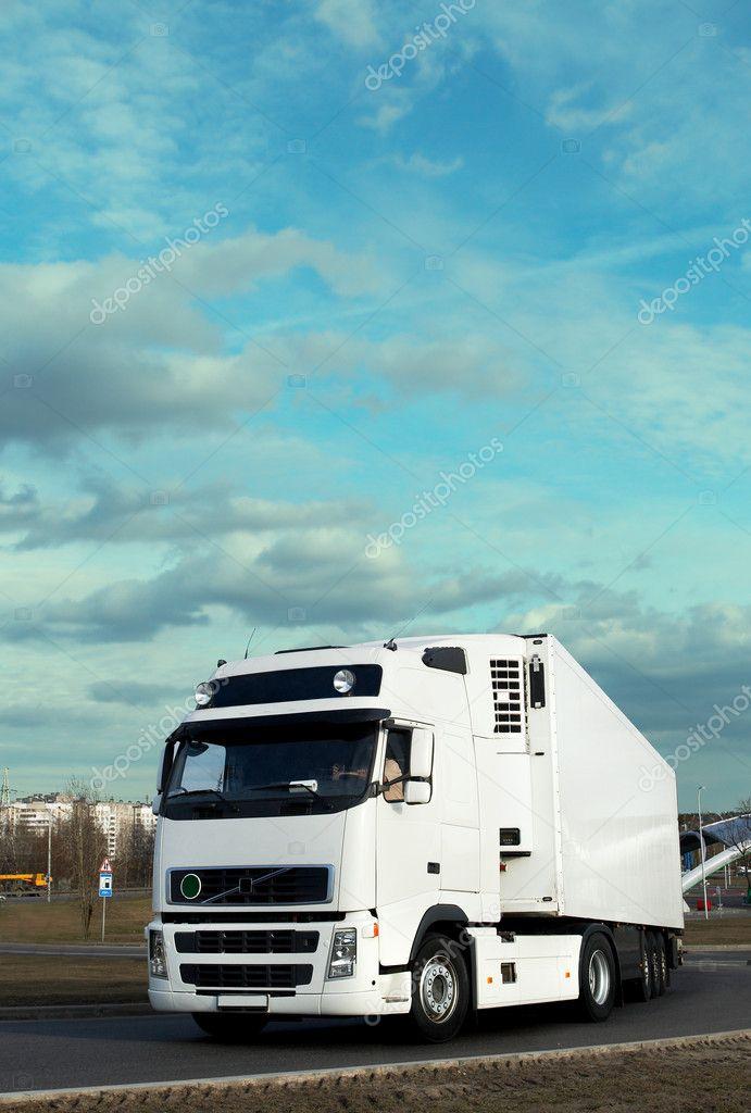 White truck - see other trucks in my portfolio