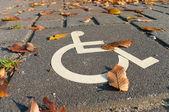 Fotografie Disabled parking sign