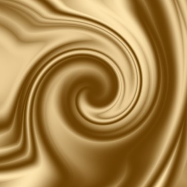 Coffee helix, smooth spiral to insert text ordesign