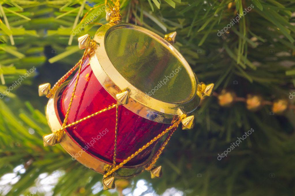 Christmas Drum.Christmas Drum Decorations The Christmas Tree Decoration