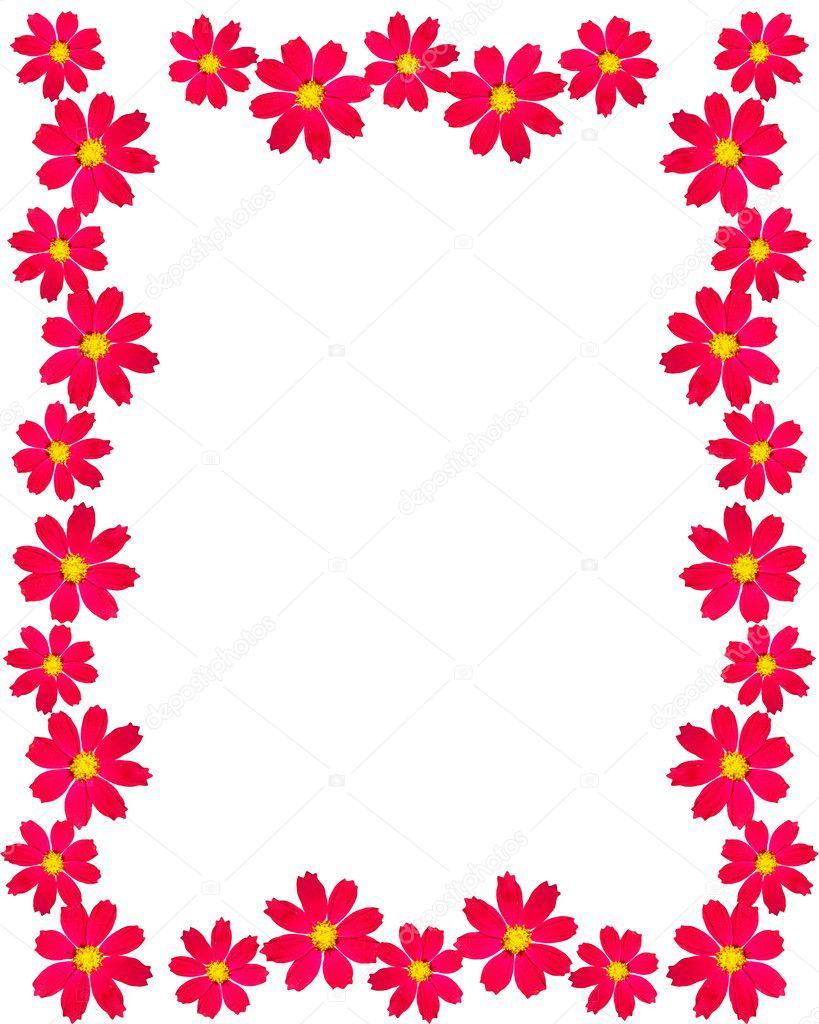 marco flores con espacio para el texto — Foto de stock © doctor25 ...