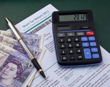Tax return and cash
