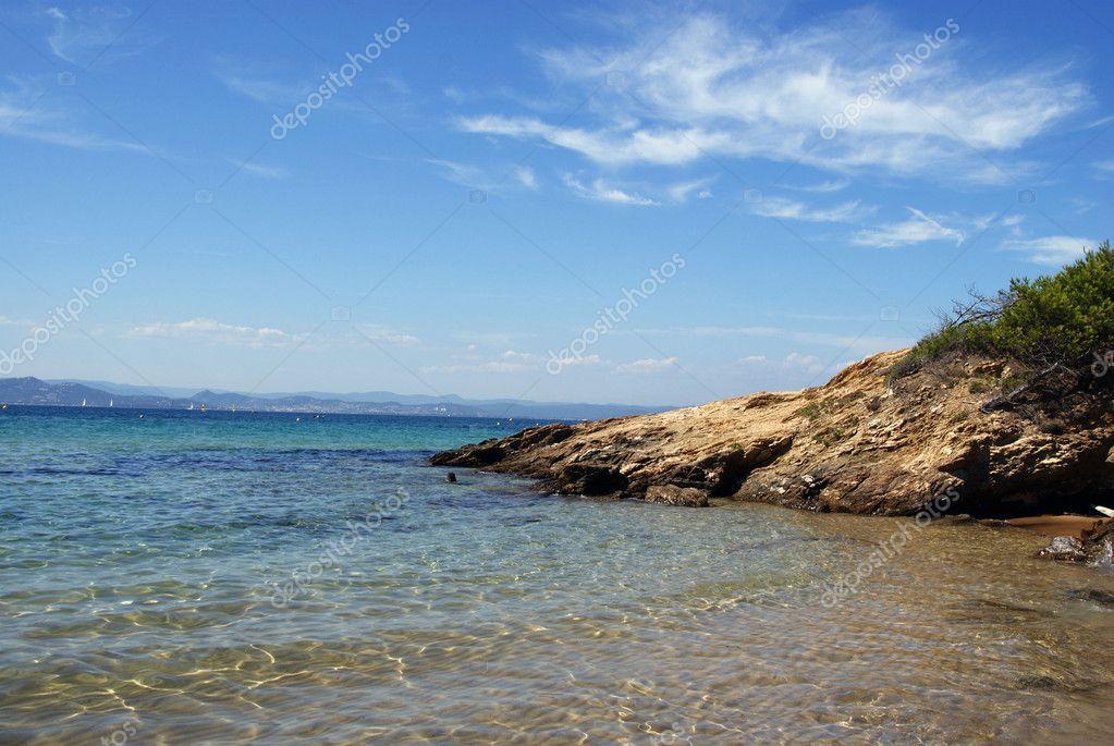 Crique de l'ile d'Or Porquerolles