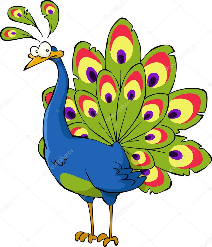 cartoon peacock stock vector c dedmazay 9128627 cartoon peacock stock vector c dedmazay 9128627
