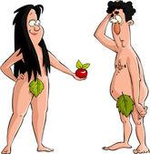 Fotografia Adamo ed Eva