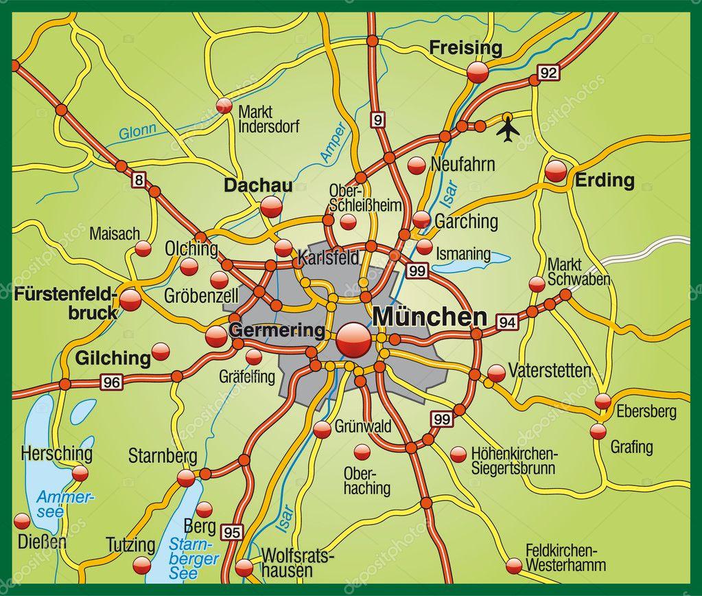 Terkep Munchen Terkep 2020
