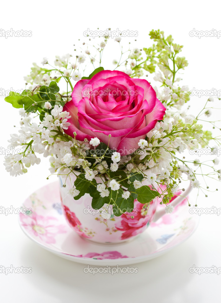 flowers in a cup stock photo sarsmis 8360090