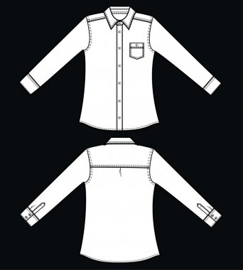 Illustration of a shirt