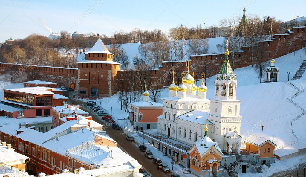 Church of the Nativity of St.John the Baptist Nizhny Novgorod