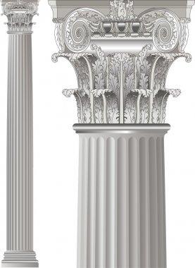 Set classic columns