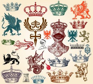 Heraldic set
