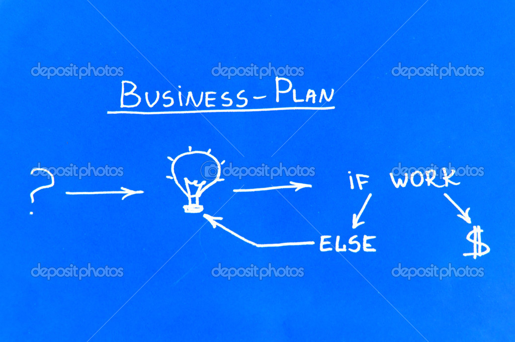 Business plan on the blueprint stock photo megajack 9007803 business plan on the blueprint photo by megajack malvernweather Images