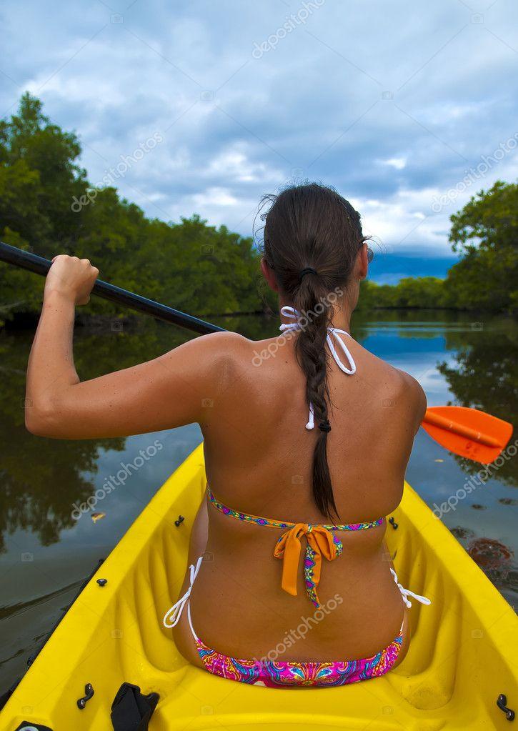 Kayaking Girl