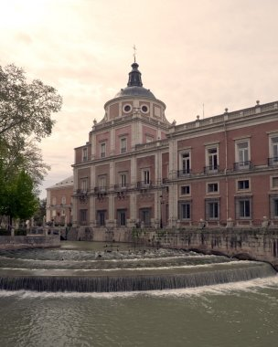Palace in the riverside