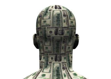 Head Made of Money 3D
